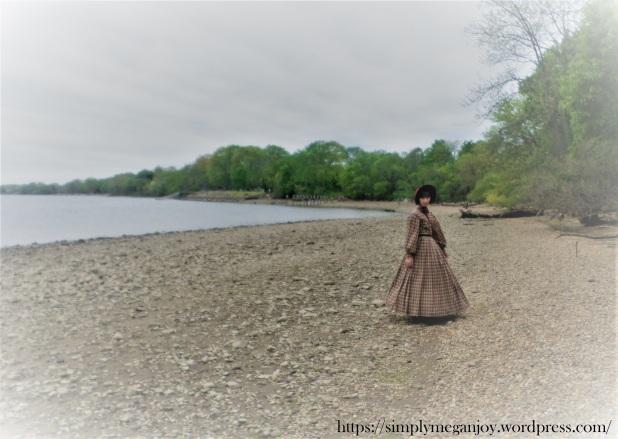 On the Waterfront  - 1863 Camp Dress - Simply Megan Joy Blog 1.JPG
