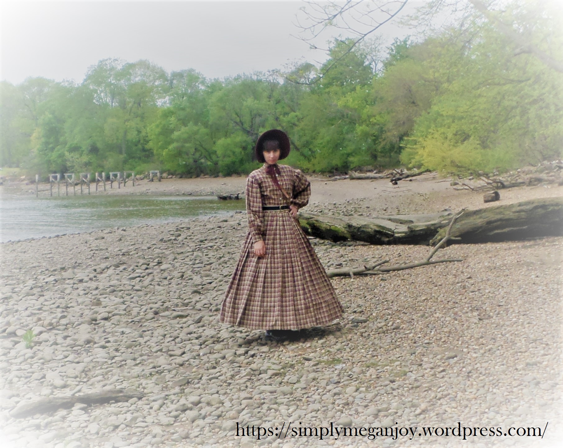 On the Waterfront  - 1863 Camp Dress - Simply Megan Joy Blog 2.JPG