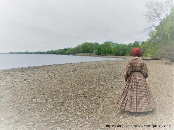 On the Waterfront  - 1863 Camp Dress - Simply Megan Joy Blog 3.JPG
