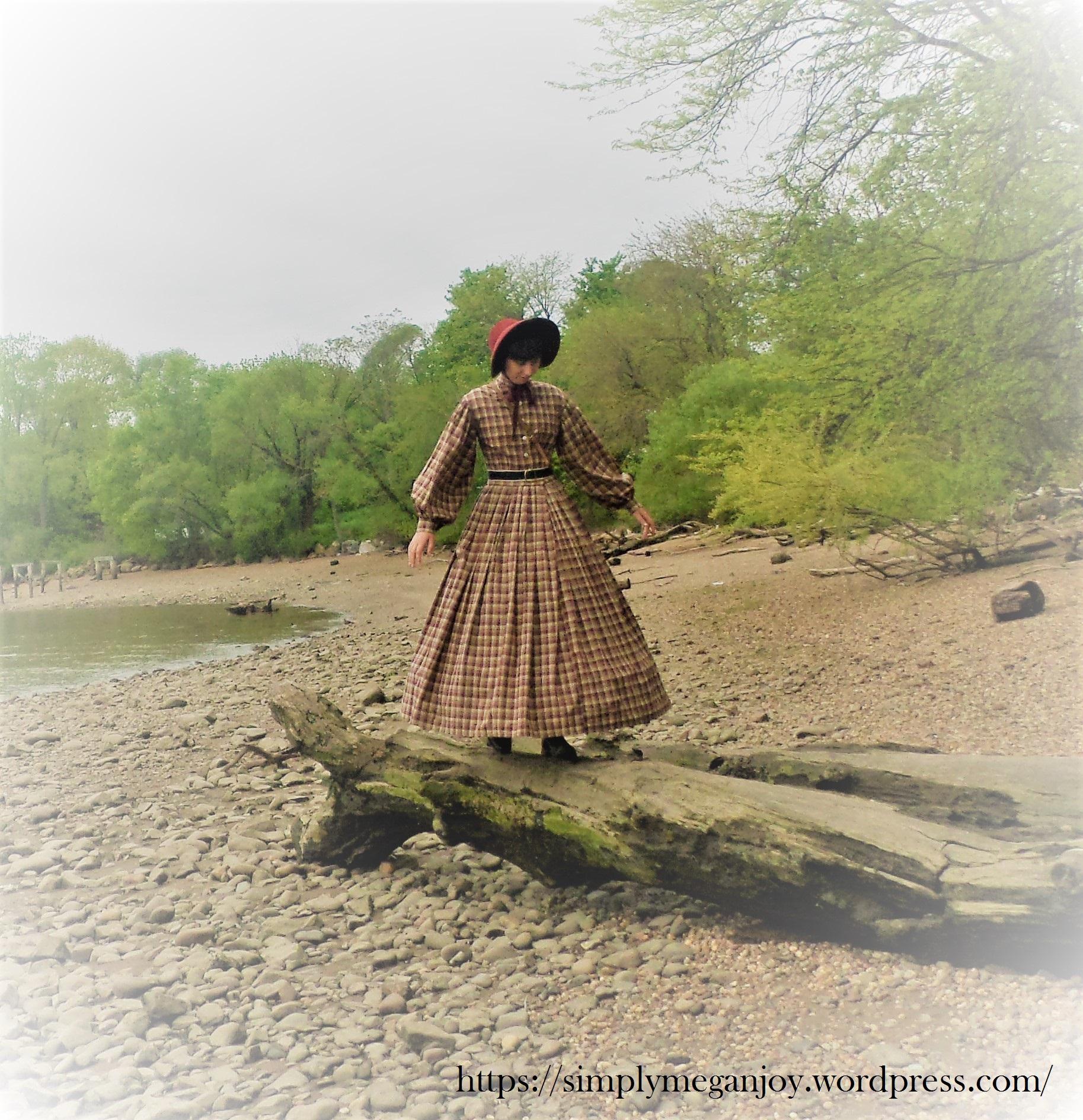 On the Waterfront  - 1863 Camp Dress - Simply Megan Joy Blog 4.JPG