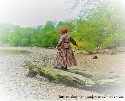 On the Waterfront  - 1863 Camp Dress - Simply Megan Joy Blog 9.JPG