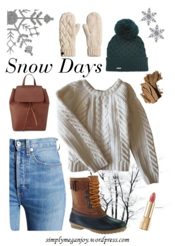 Polyvore Winter Styles - Snow Days - simplymeganjoy.wordpresscom