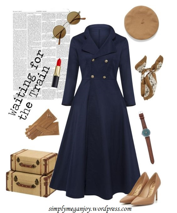 Polyvore Winter Styles - Waiting for the Train - simplymeganjoy.wordpresscom