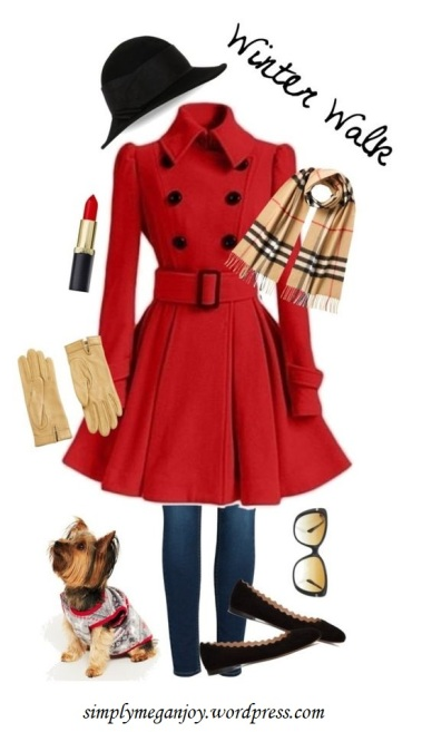 Polyvore Winter Styles - Winter Walk - simplymeganjoy.wordpresscom