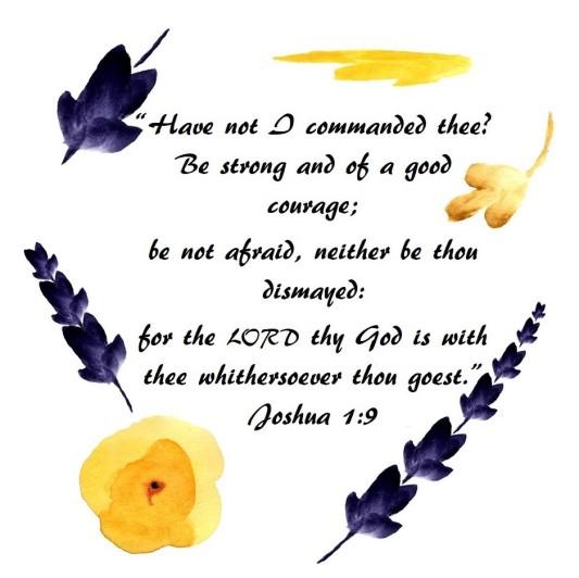 Joshua 1-9