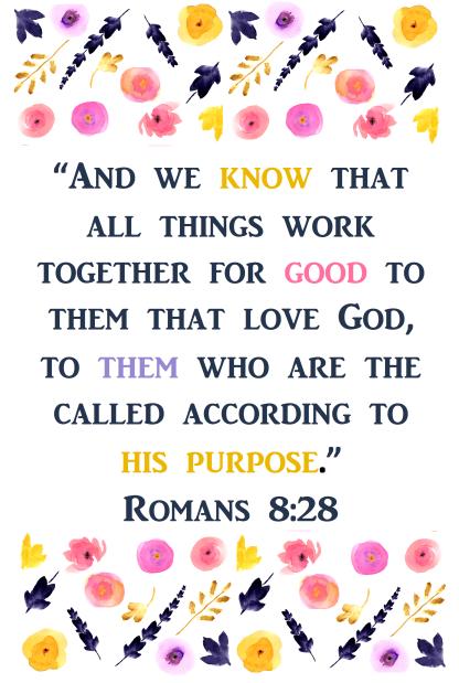 Romans 8-28 2nd